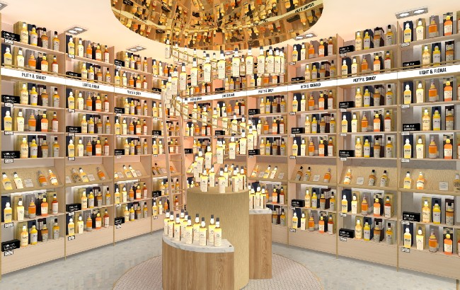 Johnnie Walker Whisky Collection Treasure Chamber