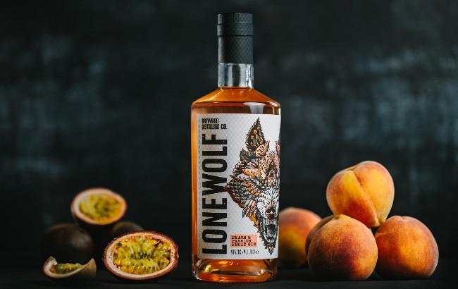 Lonewolf Passionfruit Peach gin