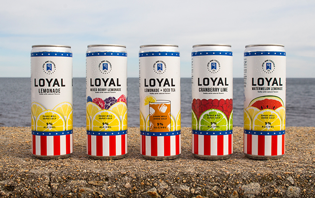 Loyal 9 Cocktails range