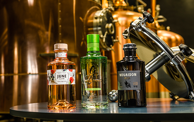 Maison Villevert's gin portfolio