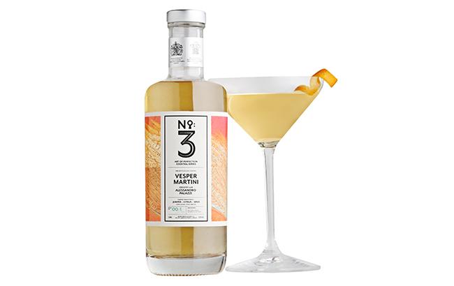 bottled Vesper Martini