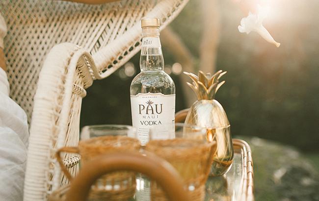 Levecke produces Pau Maui Vodka