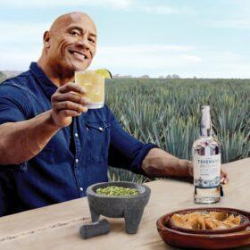 The Rock Teremana Tequila guac