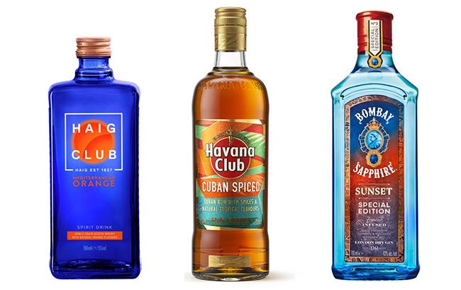 Haig Club, Havana Club and Bombay Sapphire