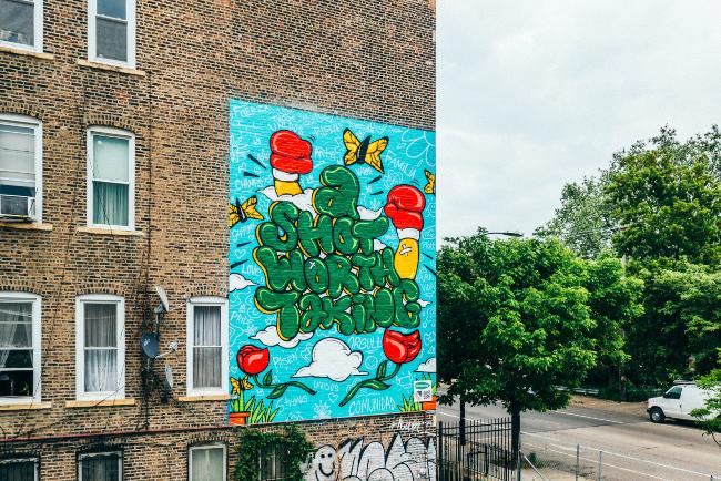 Hornitos mural Chicago