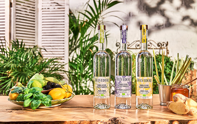 Belvedere Organic Infusions line