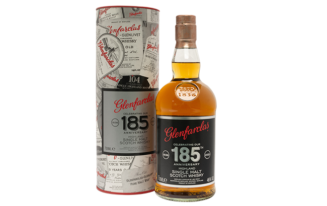 Glenfarclas 185th anniversary whisky
