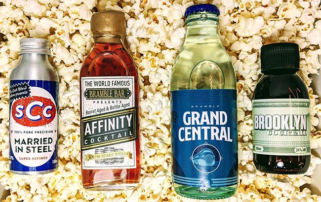 Bramble's cocktails