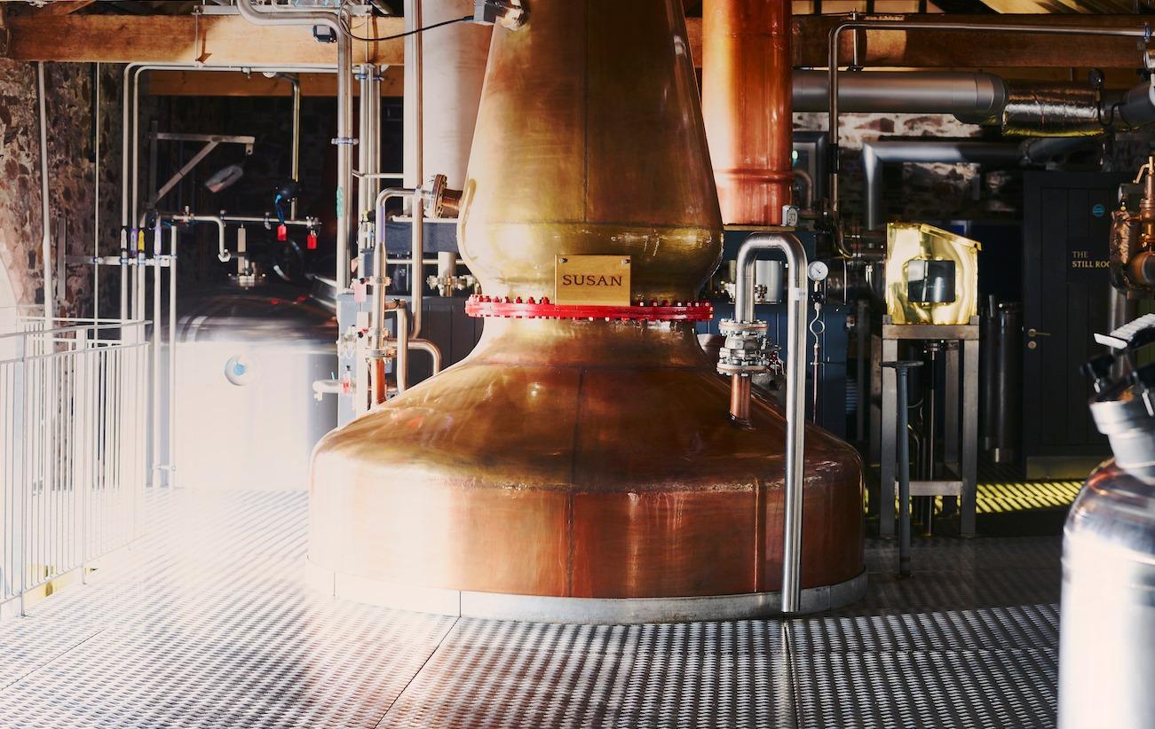 The Lakes Distillerys Whisky Stills