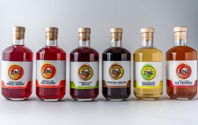 World of Zing bottled cocktails