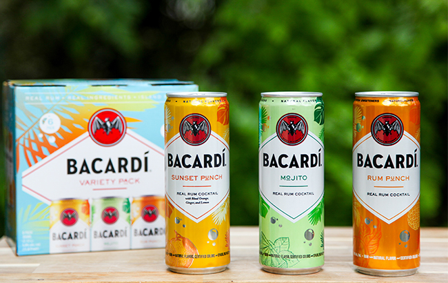 Bacardi new canned cocktails