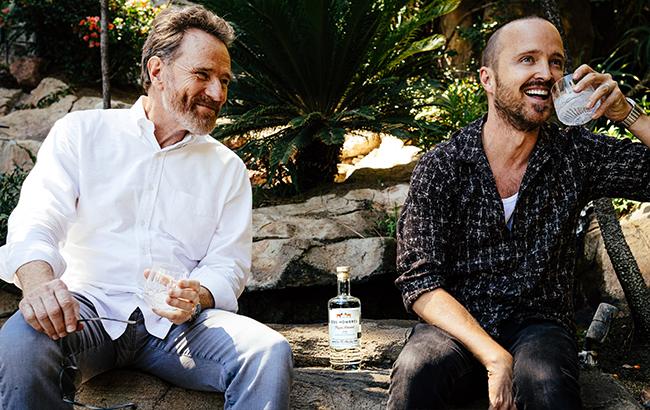 Actors Bryan Cranston and Aaron Paul