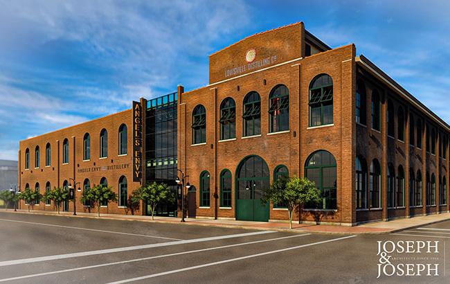 The Angel's Envy distillery in Louisville, Kentucky