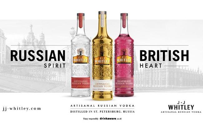 JJ Whitley Vodka campaign