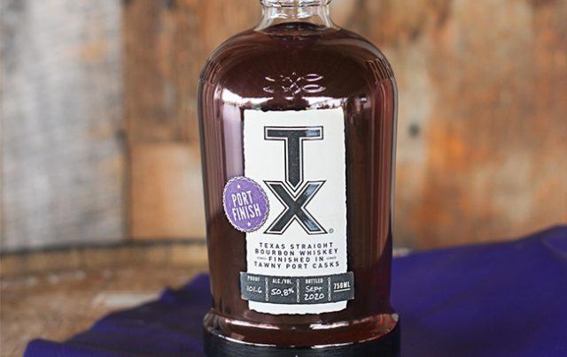 TX Texas Straight Bourbon whiskey