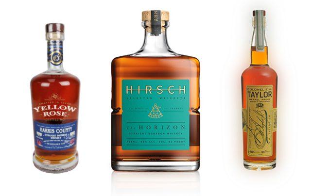Award-winning American whiskeys