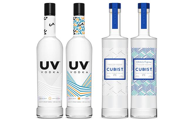 UV Vodka and Cubist Vodka