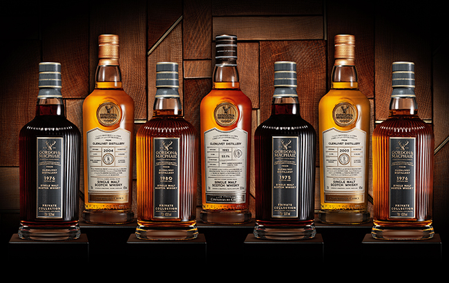 Gordon & MacPhail's new Glenlivet whiskies