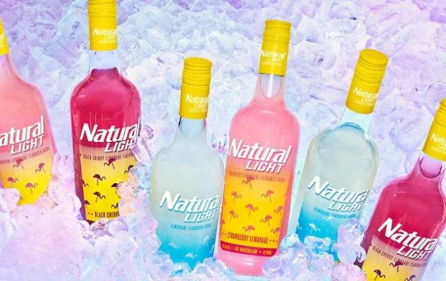 Natural Light vodka