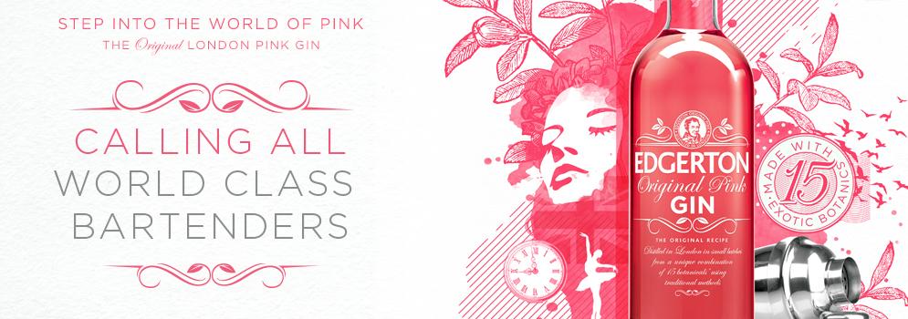 Edgerton Pink Gin Masters