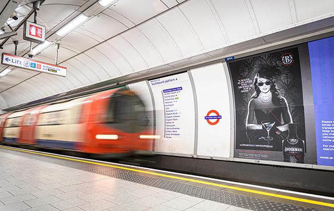 Brockmans gin underground campaign