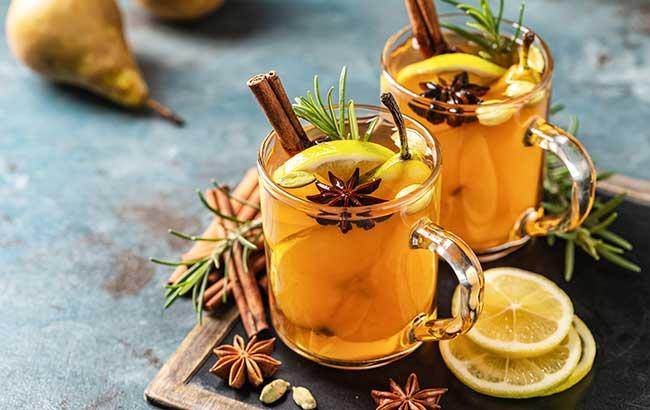 Hot toddy - spirits tasting
