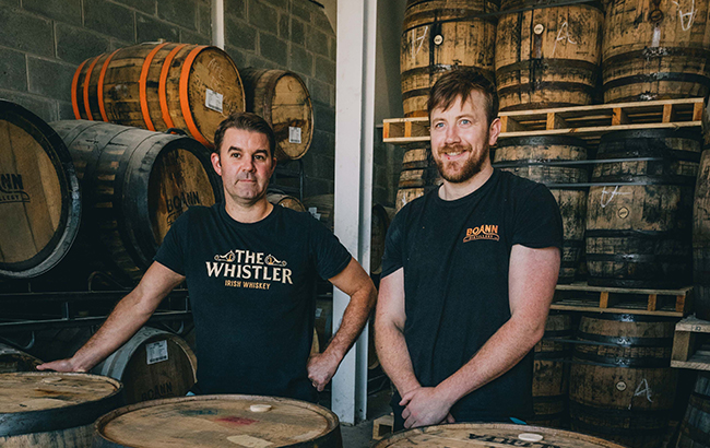 Boann Distillery whiskey maturation