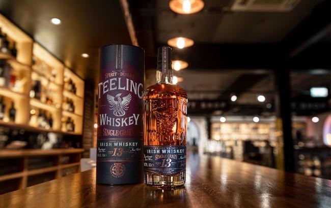 Teeling 13 years old whiskey
