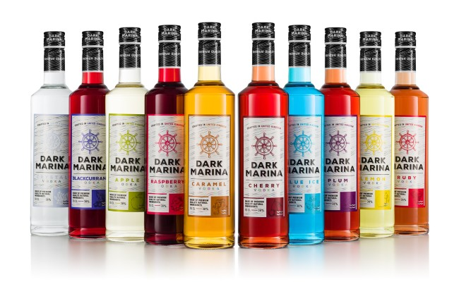 Dark Marina Vodka
